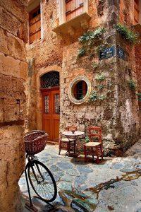 Stel je hamburger zelf samen in Griekenland